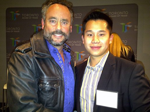 Brett Wilson and Jeremy Choi
