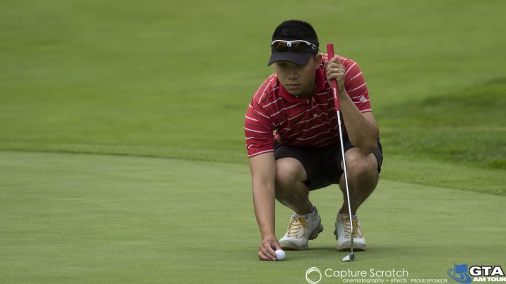 Jeremy Choi - Lining up the Putt